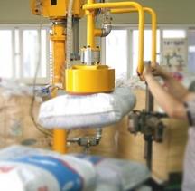袋装物品搬运助力机械手