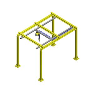 龙门框架轨道式助力搬运机构